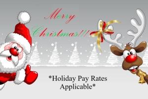 Christmas Holiday Pay Image